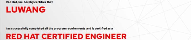 捷讯:王露7月6日北京顺利通过RHCE认证。