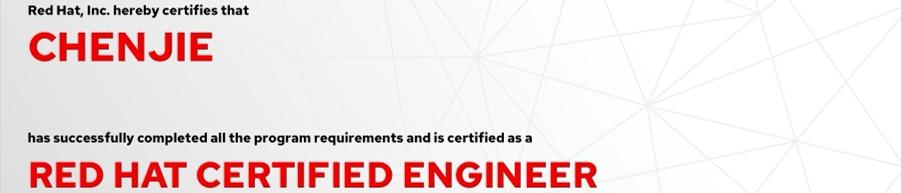 捷讯:陈洁7月14日上海顺利通过RHCE认证。