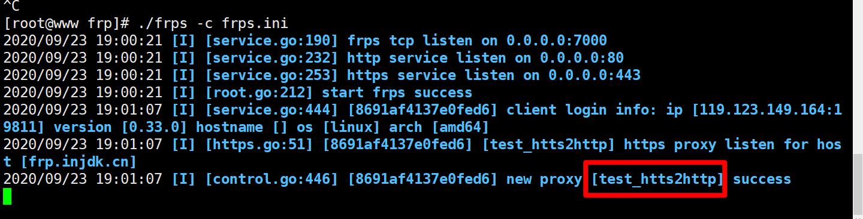 给Frp穿透的内网Web上https给Frp穿透的内网Web上https