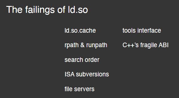 到彻底改造GNU动态链接器的时候了吗?到彻底改造GNU动态链接器的时候了吗?