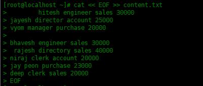 如何使用awk处理文本内容如何使用awk处理文本内容