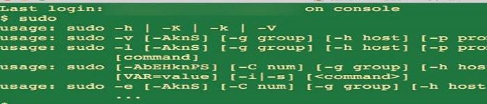 分享Linux下的sudo及其配置文件/etc/sudoers详细配置