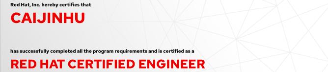 捷讯:蔡锦湖12月10日深圳顺利通过RHCE认证。