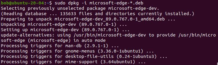 如何在Linux中安装Microsoft Edge浏览器如何在Linux中安装Microsoft Edge浏览器