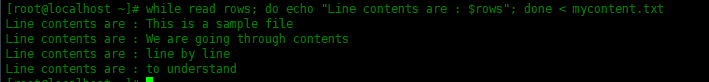 如何在Shell脚本中逐行读取文件如何在Shell脚本中逐行读取文件