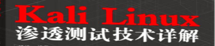 《Kali Linux渗透测试技术详解》pdf版电子书免费下载