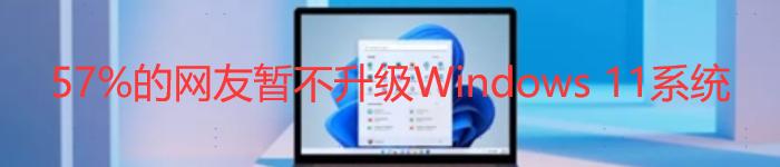 Bug多不稳定:57%的网友暂不升级Windows11